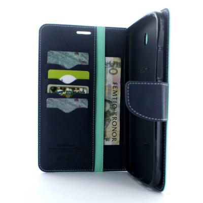 Mercury Fancy Diary Plånboksfodral till Samsung Galaxy Tab 3 7,0 (Turkos)