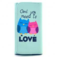 Universalt plånboksfodral - Owl you need is love