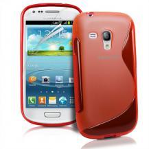 OEMFlexiCase Skal till Samsung Galaxy S3 Mini i8190 - (Röd)