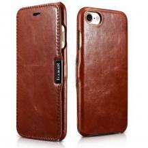 ICARERIcarer Vintage iPhone 7/8/SE 2020 Brown