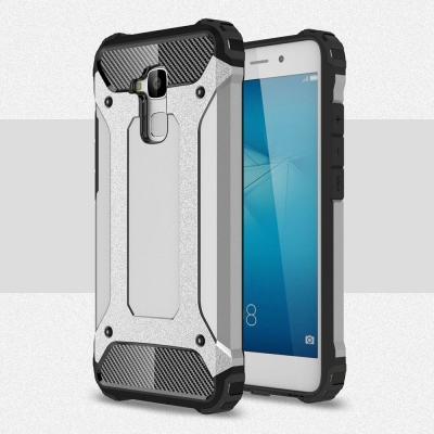 Hybrid Armor Mobilskal till Huawei Honor 7 Lite - Silver