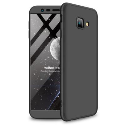 GKK Detachable Skal till Samsung Galaxy J4 Plus - Svart