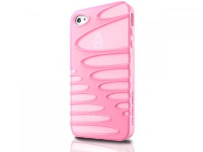 Musubo Skal till Apple iPhone 4/4S - Sexy Pink
