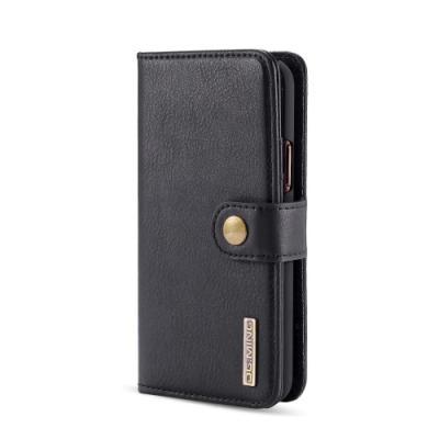 DG.MING 2-in-1 Plånboksfodral för iPhone 11 Pro - Svart