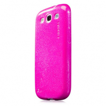 CapdaseCAPDASE Xpose Sparko till Samsung Galaxy S3 i9300 (Magenta) + Skärmskydd