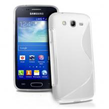 OEMFlexiCase Skal till Samsung Galaxy Core Advance - (Vit)