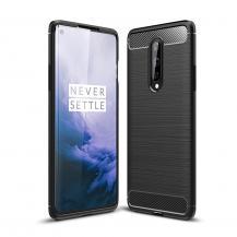 OEMCarbon Fibre Skal OnePlus 8 - Svart