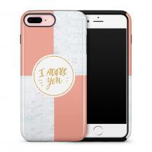 TheMobileStore Print CasesTough mobilskal till Apple iPhone 7/8 Plus - I adore you