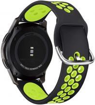 Tech-ProtectTech-Protect armband Samsung Galaxy watch 3 41mm - Svart/Lime