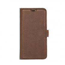 PuroEssentials Plånboksfodral till iPhone 11 Pro- brun
