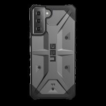 UAGUAG Samsung Galaxy S21 Plus Pathfinder-Fodral Silver