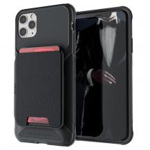 GhostekGhostek | Magnetic Wallet Korthållare Skal iPhone 12 Pro Max - Svart