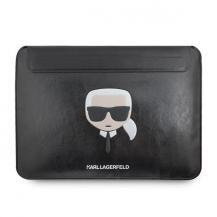 """KARL LAGERFELDKarl Lagerfeld Datorfodral 13"""" Ikonik Karl - Svart"""