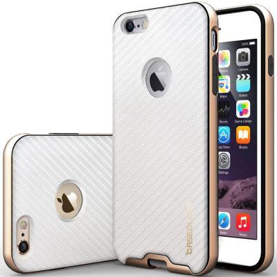 Caseology Bumper Frame Skal till Apple iPhone 6   6S - Carbon Vit ... 00754881a85b3
