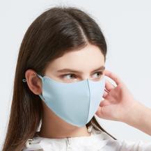 Tvättbar mask Munskydd Skyddsmask Blå