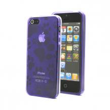 A-One BrandFootmark FlexiCase Skal till Apple iPhone 5/5S/SE - Lila