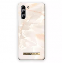 iDeal of SwedeniDeal Fashion Skal Samsung Galaxy S21 - Rose Pearl Marble
