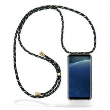 CoveredGear-NecklaceCoveredGear Necklace Case Samsung Galaxy S8 - Green Camo Cord