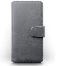 TerrapinTerrapin   Äkta Läder Plånboksfodral iPhone 12 Mini - Grå