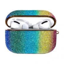 KingxbarKingxbar Rainbow Shiny Glitter Airpods Pro skal multicolour