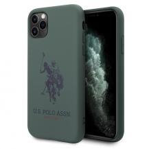 U.S. Polo Assn.U.S. Polo Assn. Silicone Collection iPhone 11 Pro Max skal Grön