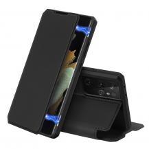 Dux DucisDux Ducis Skin X Plånboksfodral Samsung Galaxy S21 Ultra 5G - Svart