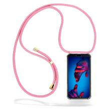 CoveredGear-NecklaceCoveredGear Necklace Case Huawei P20 - Pink Cord