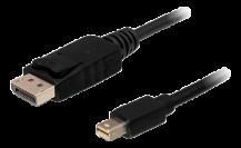 DeLOCKDeLOCK miniDisplayPort - DisplayPort kabel, 5 m - Svart