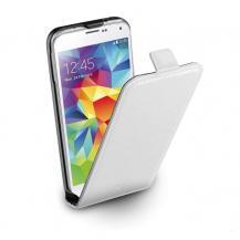 CellularLineCellularLine Flap Essential för Samsung Galaxy S5 - Vit