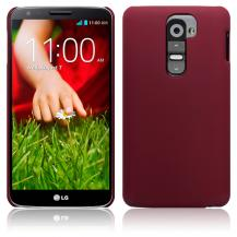 A-One BrandBaksidesskal till LG G2 (Röd)
