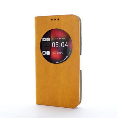 Zenus ZView Maple Diary Väska till Samsung Galaxy S5 (Gul)