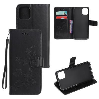 Butterfly Plånboksfodral till iPhone 11 - Svart