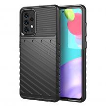 A-One BrandThunder Twill Texture Skal till Galaxy A52 5G - Svart