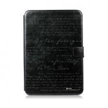 ZenusZenus Lettering Diary Fodral till Samsung Galaxy Note 10.1 N800 (Svart)