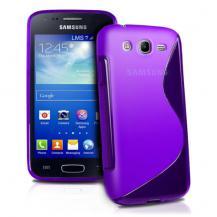 OEMFlexiCase Skal till Samsung Galaxy Core Advance - (Lila)
