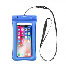 A-One BrandFlytande Vattentätt universalt mobilfodral - Ljusblå