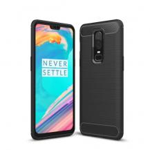 A-One BrandBrushed MobilSkal till OnePlus 6 - Svart