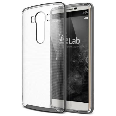 Verus Crystal Bumper Skal till LG V10 - Steel Silver