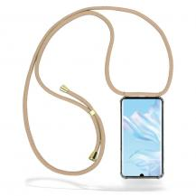 CoveredGear-NecklaceCoveredGear Necklace Case Huawei P30 Pro - Beige Cord