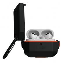 UAGUAG Apple Airpods Pro Hardcase Case - Black / Orange