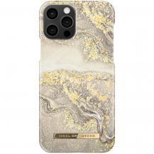 iDeal of SwedeniDeal Fashion Skal iPhone 12 & 12 Pro - Sparkle Greige Marble