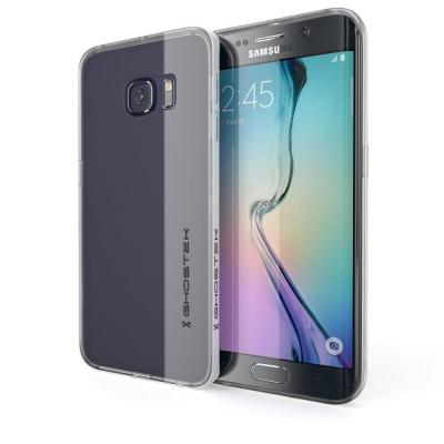 Ghostek Cloak Skal till Samsung Galaxy S6 Edge - Silver