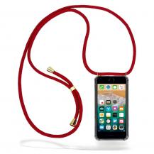 CoveredGear-NecklaceCoveredGear halsbandsskal iPhone 7 Plus & iPhone 8 Plus - Maroon Cord