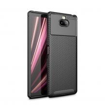 OEMFull Carbon Mobilskal till Sony Xperia 10 - Svart