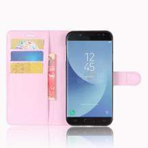 OEMPlånboksfodral till Samsung Galaxy J5 (2017) - Rosa