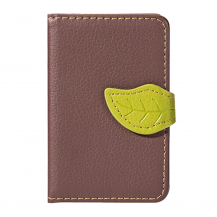 OEMLeaf kreditkortshållare för smartphones - Brun