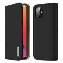 Dux DucisDUX DUCIS Wish äktaläder Fodral iPhone 12/12 Pro Svart