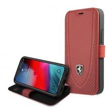 FerrariFerrari Plånboksfodral iPhone 12 mini Off Track Perforated - Röd