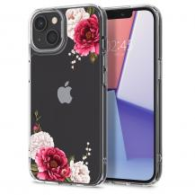 SpigenSpigen Cyrill Cecile Mobilskal iPhone 13 - Röd Floral