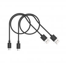 KanexKanex Micro USB laddnings- och synkroniseringskabel 0,5m - 2 pack